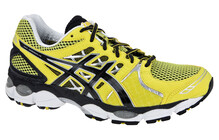 Asics Men's Gel Nimbus 14 lemon/black/lightning